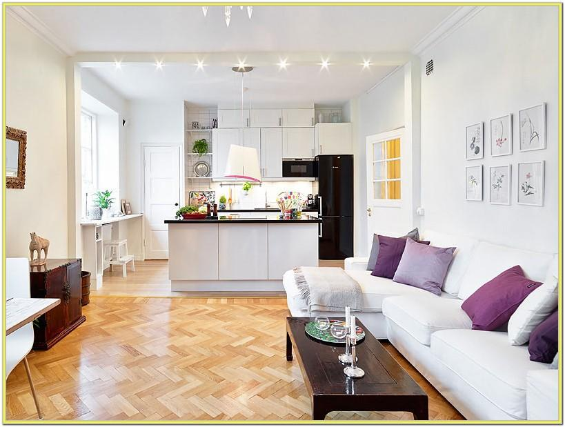 Decorating Ideas Open Kitchen Living Room