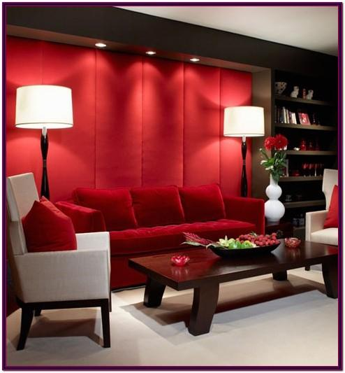 Decorating Ideas Red Walls Living Room