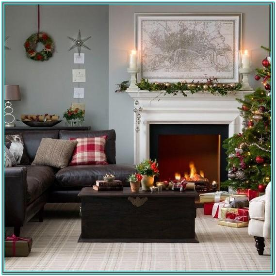 Decorating Living Room Christmas Decoration Ideas For Home