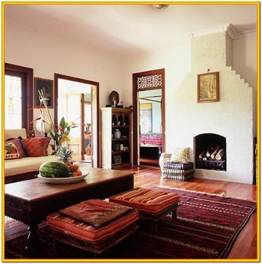 Decorating Living Room Indian Style