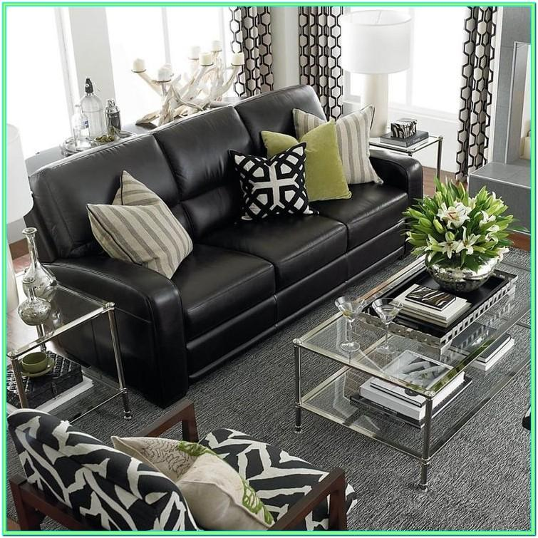 Decorating Living Room With Black Furniture