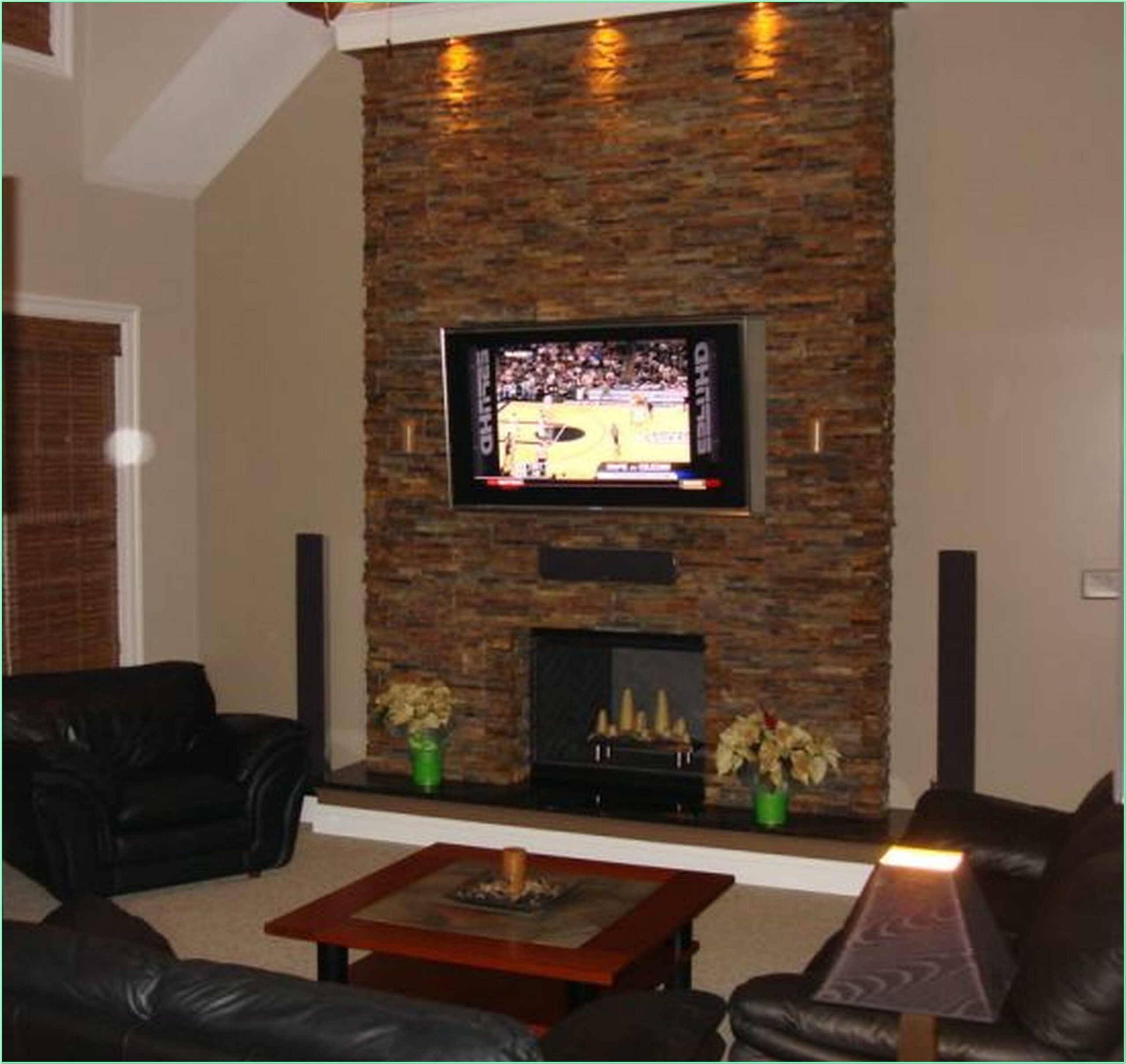 Decorating Living Room With Brick Fireplace
