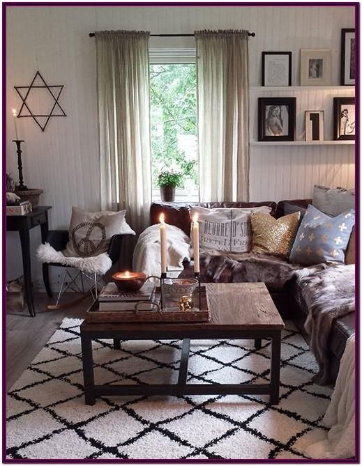 Decorating Living Room With Brown Sofa
