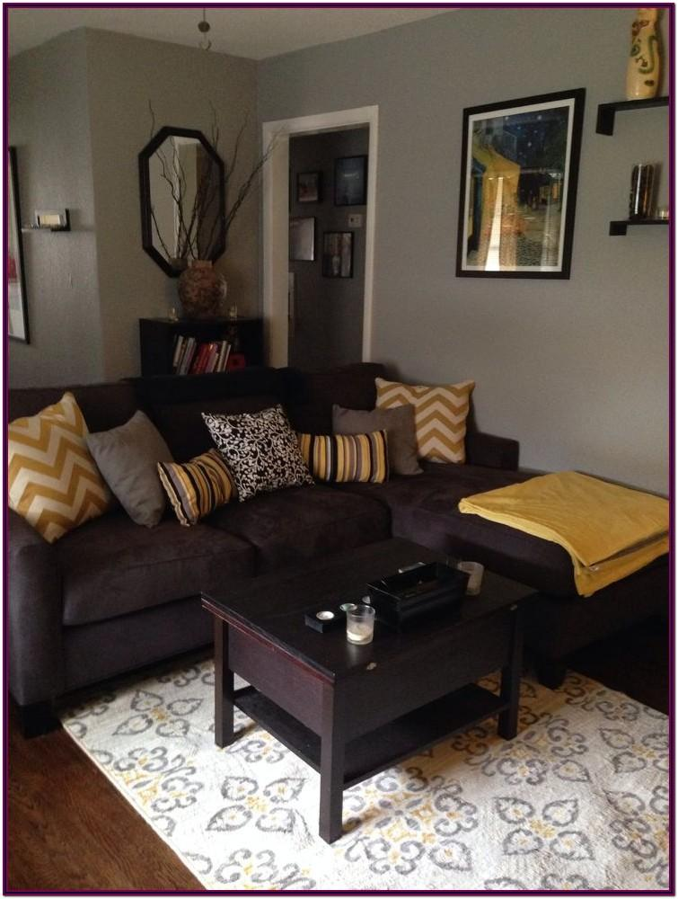 Decorating Living Room With Dark Brown Furniture
