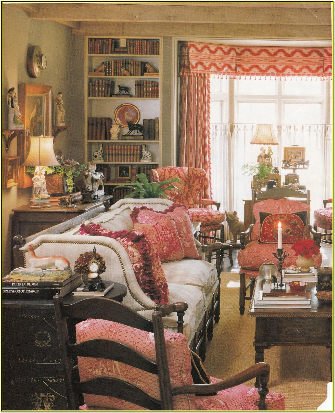 Decorating Living Room With French Doors