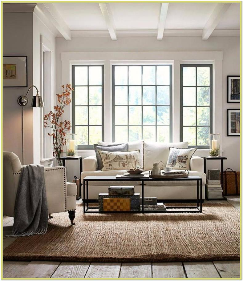 Decorating Living Room With Picture Window