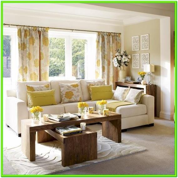 Decorating Living Room With Yellow Accents