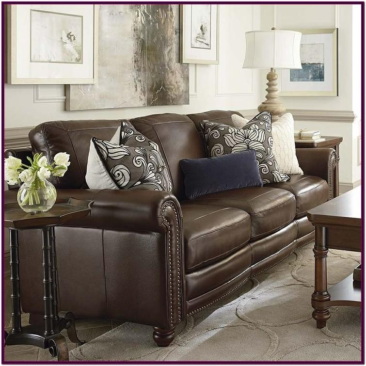 Decorating Living Rooms With Brown Leather Couches