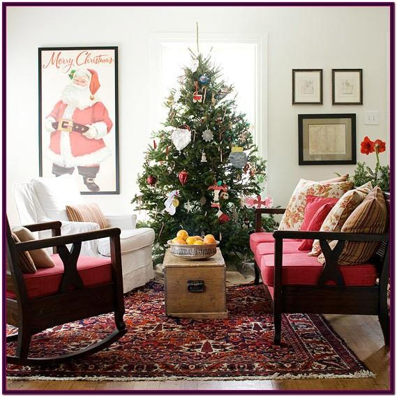 Decorating My Living Room For Christmas