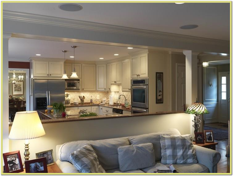 Decorating Open Concept Kitchen Living Room