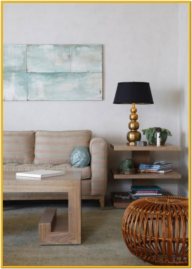 Decorating Side Tables In Living Room