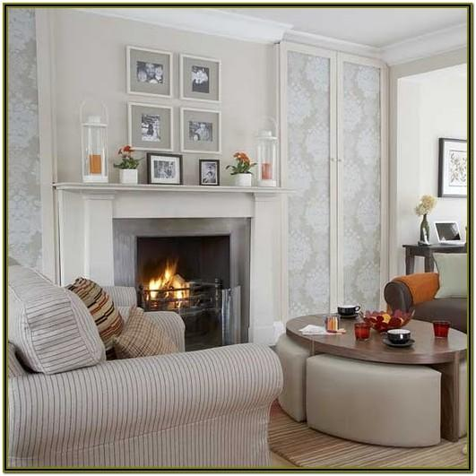 Decorating Small Living Room With Fireplace