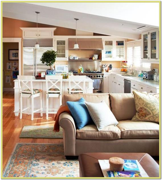 Decorating Small Open Kitchen Living Room
