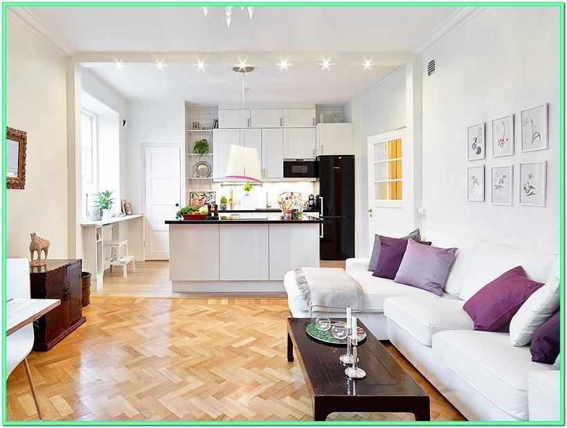 Decorating Small Open Plan Living Room