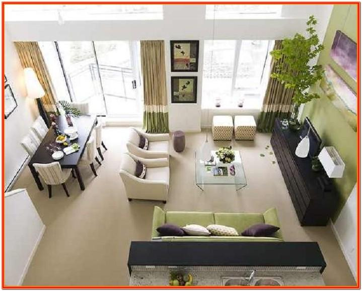 Design For Living Room And Dining Room