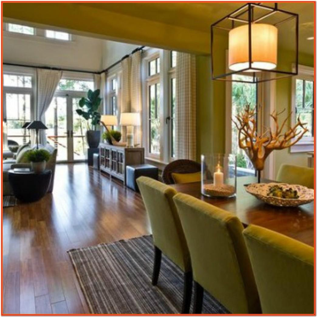 Design Living Room And Dining Room Combo