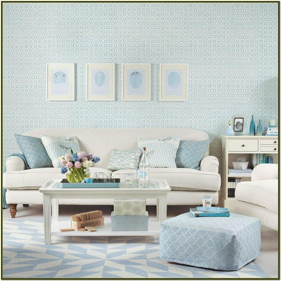 Duck Egg Blue Living Room Accessories