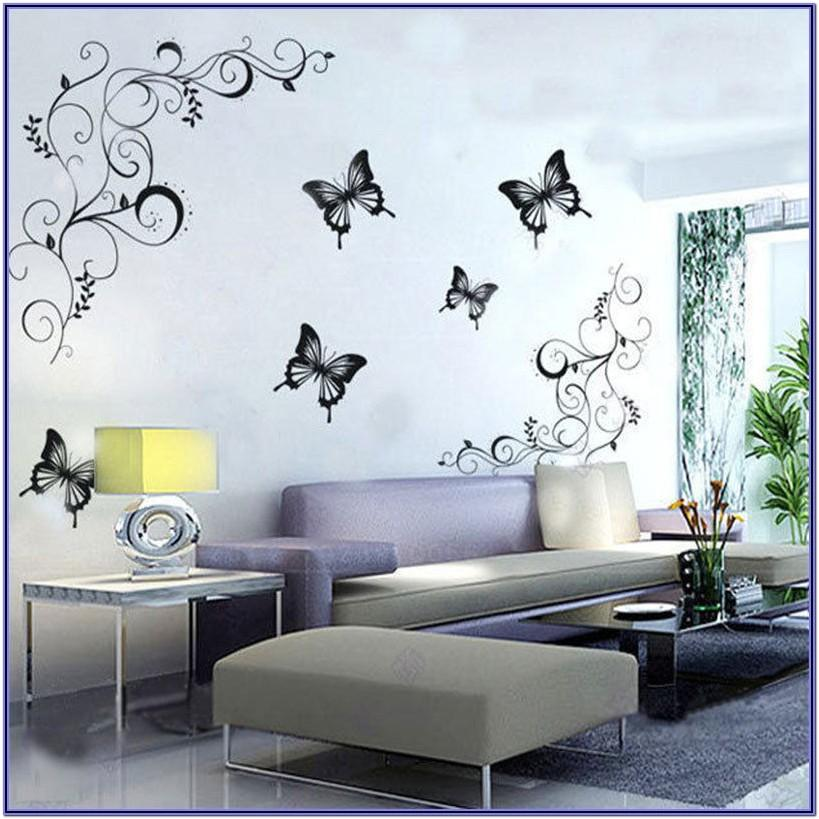 Floral Wall Decor For Living Room