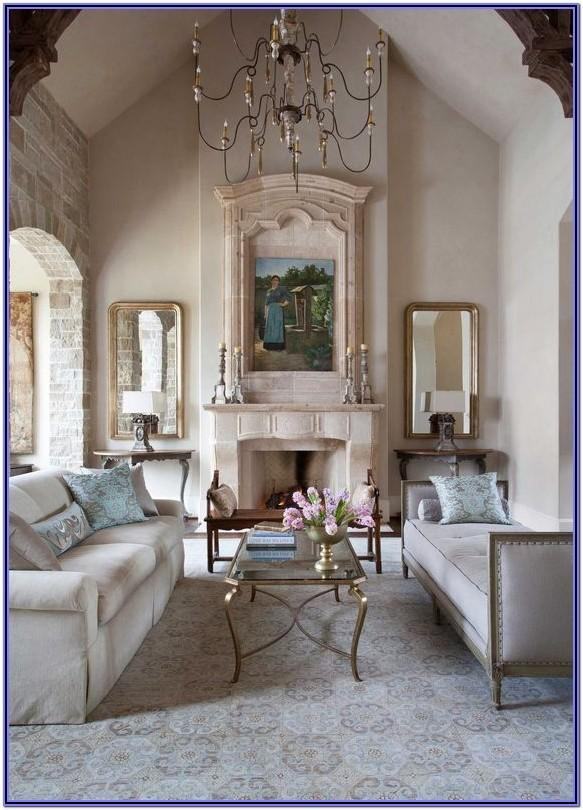 French Country Decorated Living Rooms