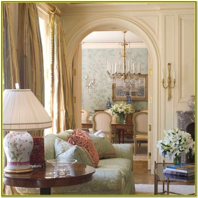 French Country House Living Room
