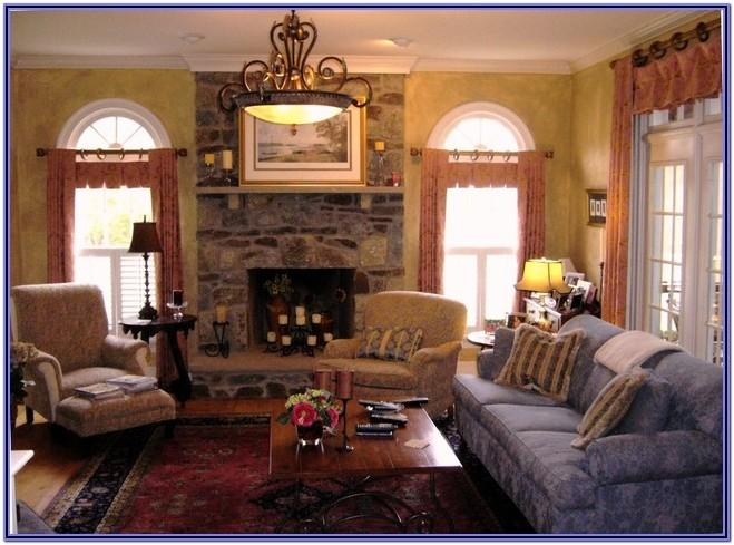 French Country Interior Living Room