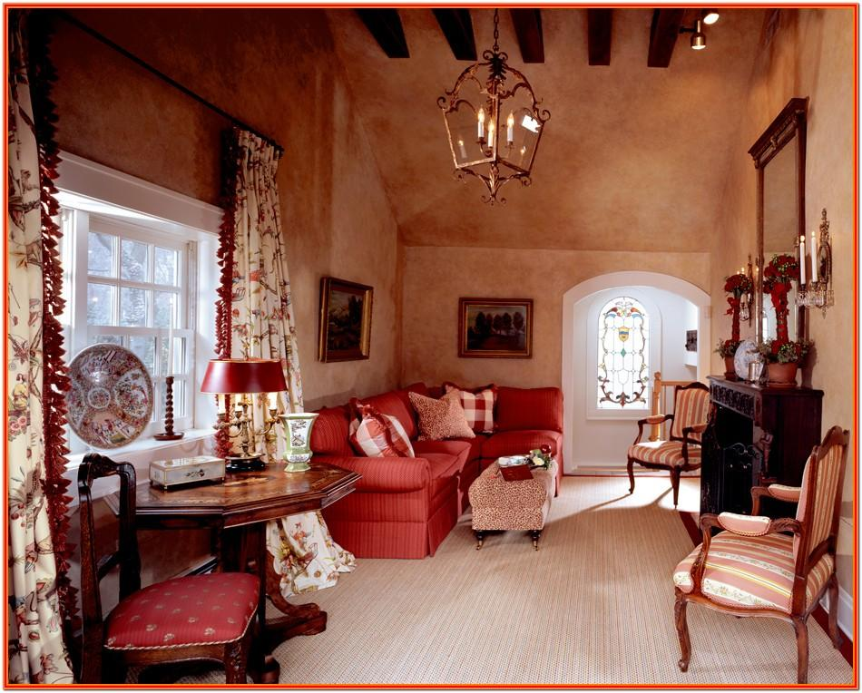 French Country Style Living Room Ideas