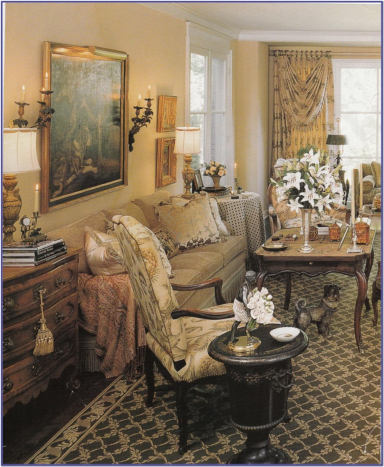 French Provincial Decorating Living Room