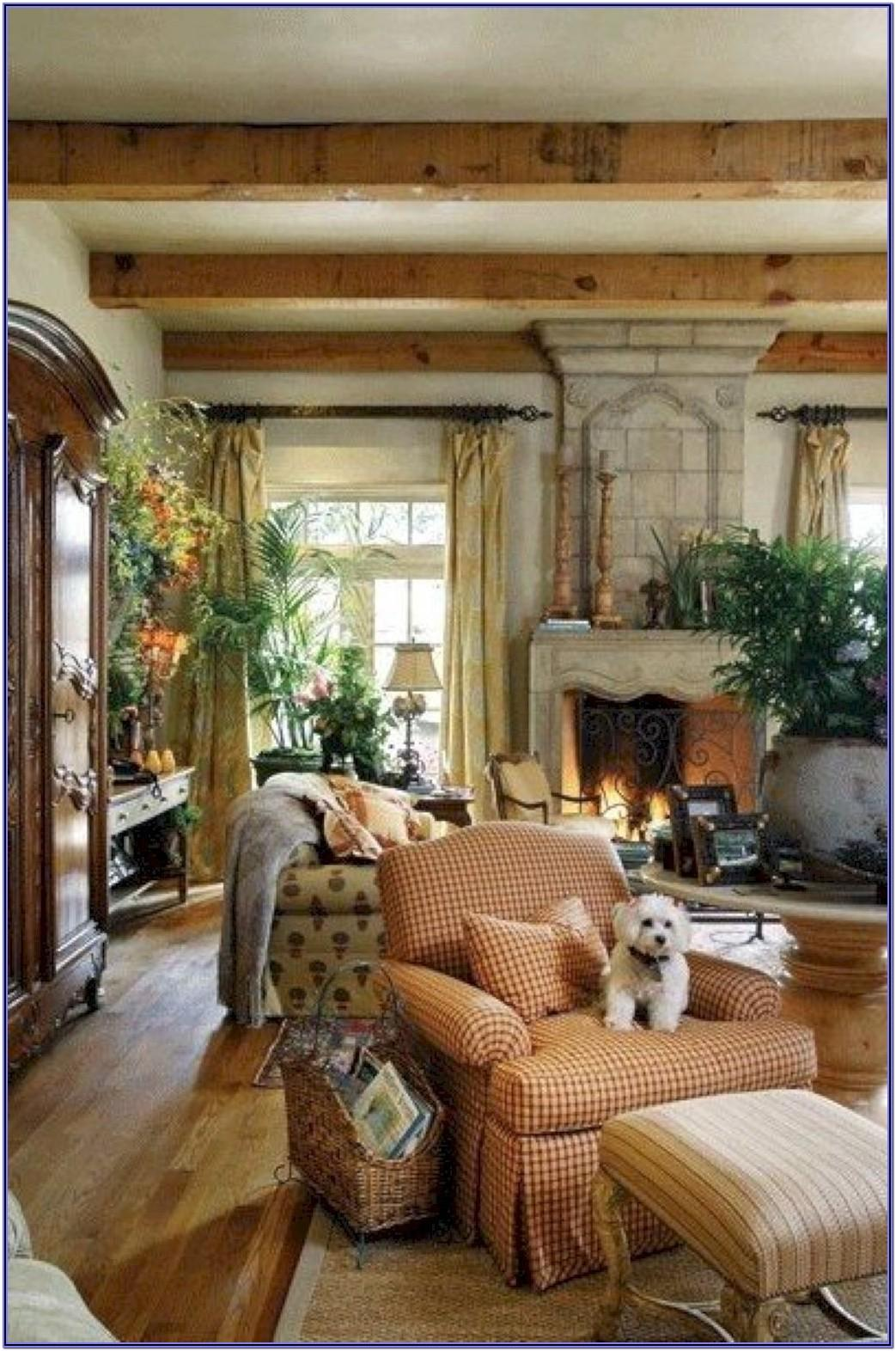 French Style Decor Living Room