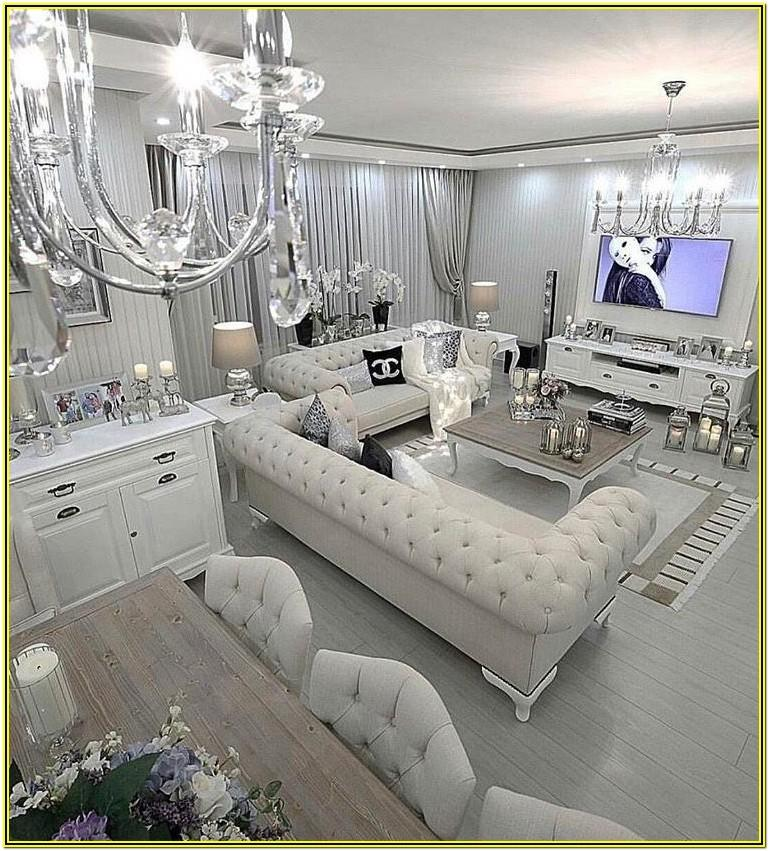 Glamorous Glam Living Room Decor