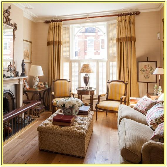 Gold And Cream Living Room Decor