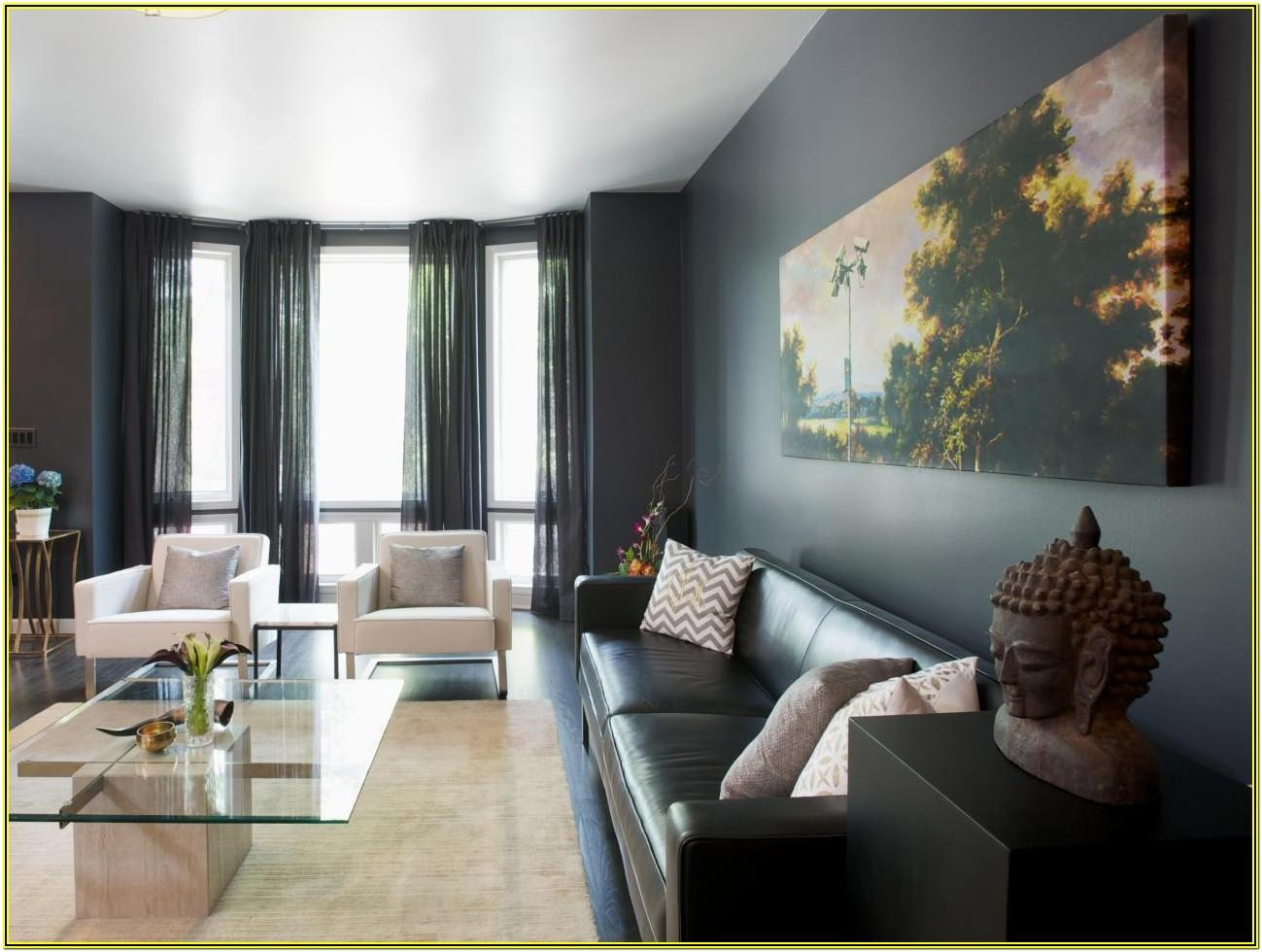Gray And Black Living Room Decorating Ideas
