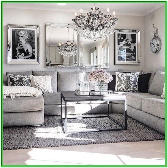 Gray And White Living Room Decor Ideas