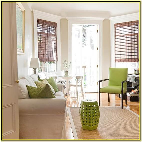 Green And Beige Living Room Decor