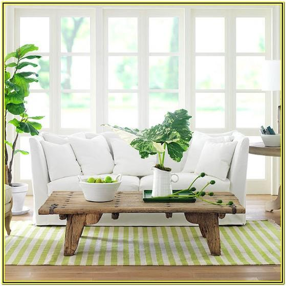 Green And White Living Room Decor