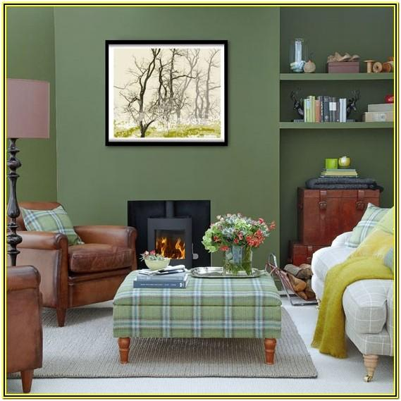 Green Decoration For Living Room