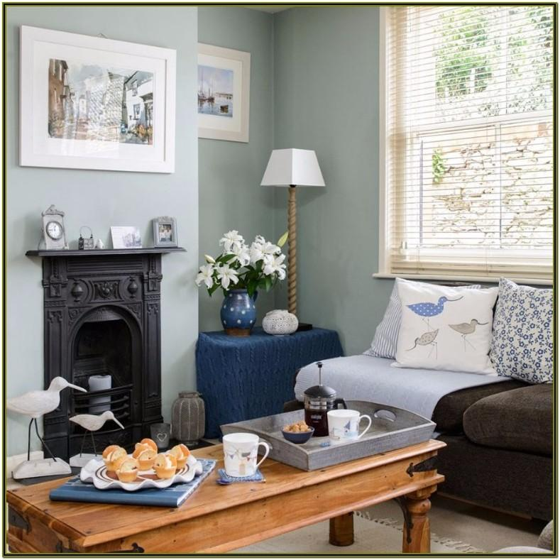 Grey And Duck Egg Living Room Accessories