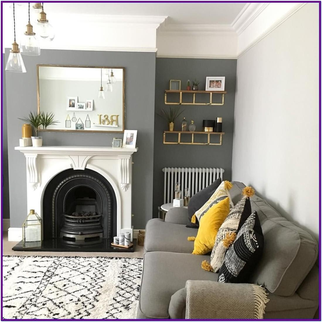 Grey Wall Decor For Living Room