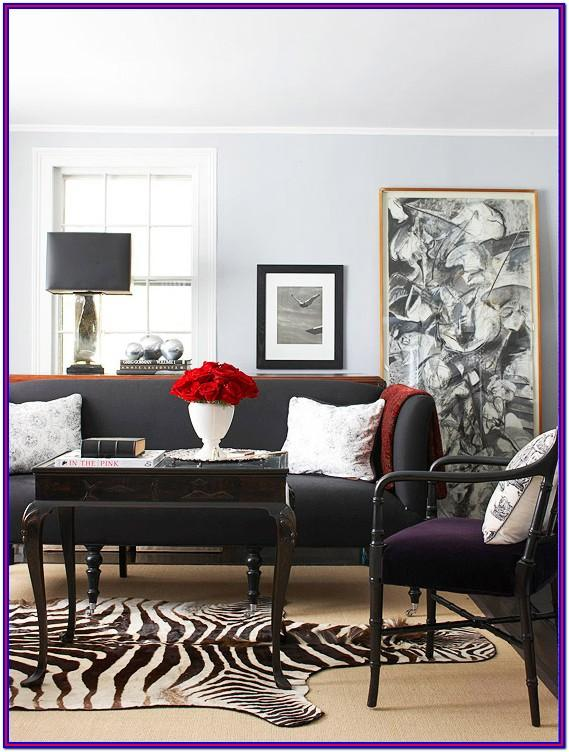 Grey White Coutch Living Room Decor