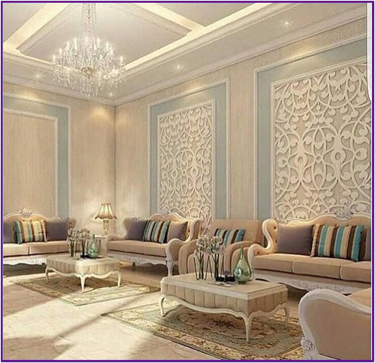 Gypsum Decorations For Living Room