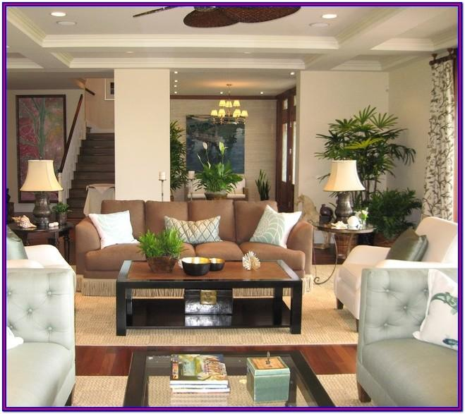 Hawaiian Style Living Room Decor