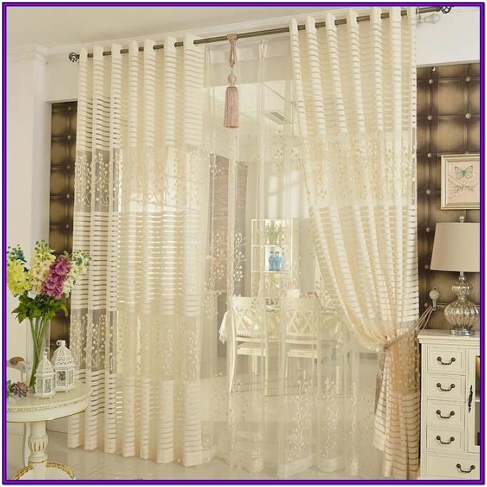 High End Decorative Living Room Sheer