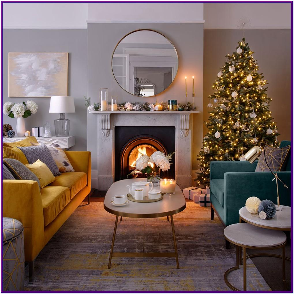 Holiday Decorating Ideas For Living Rooms