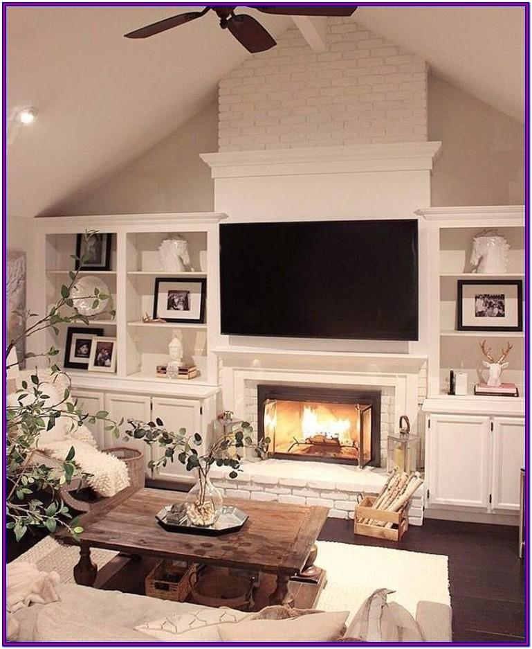 Home Decor For Living Room Electronics Fireplace