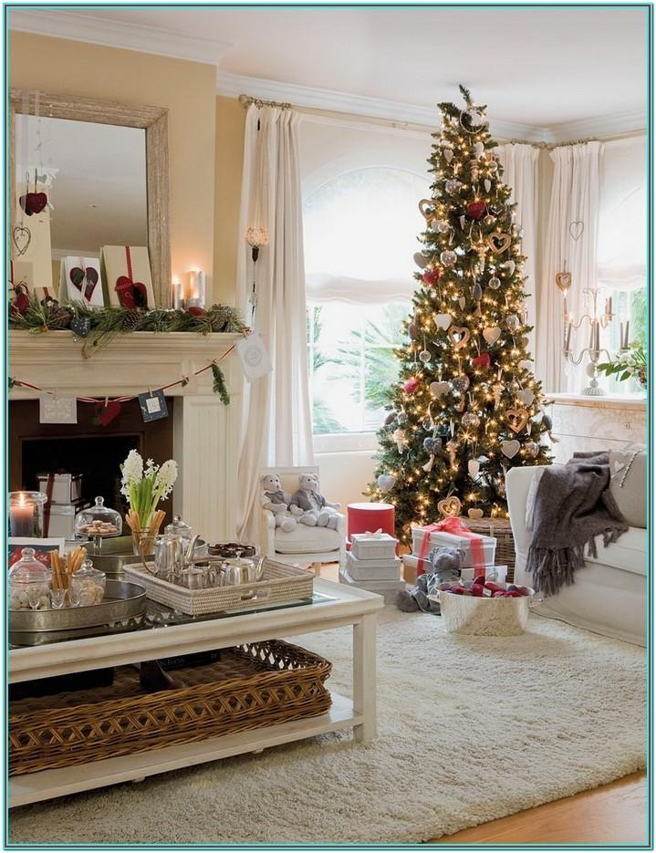 House Living Room Christmas Decorating Ideas