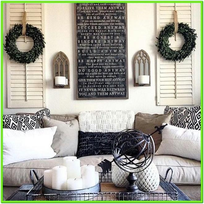 How Do I Decorate My Living Room Walls