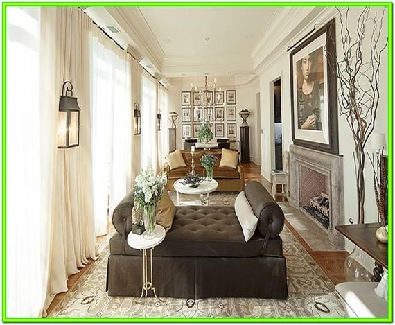 How To Decorate A Long Wall In The Living Room