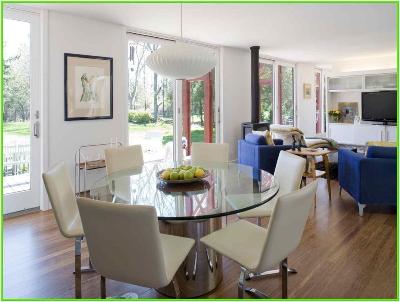 How To Decorate A Square Living Dining Room
