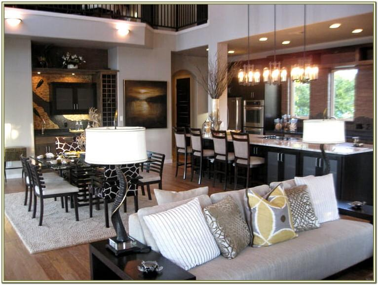 How To Decorate Open Kitchen And Living Room