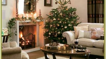 How To Decorate Your Living Room For Christmas