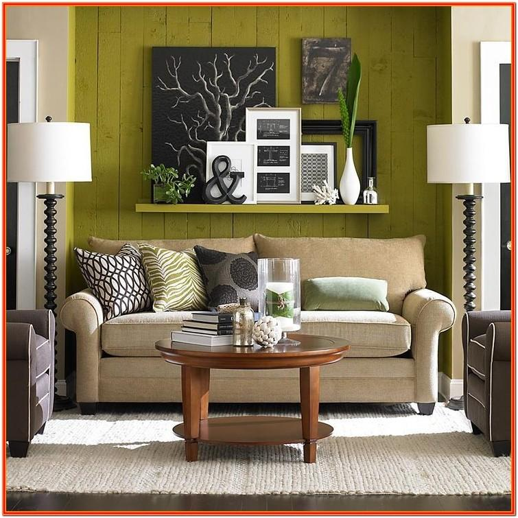 Ideas For Blank Wall In Living Room